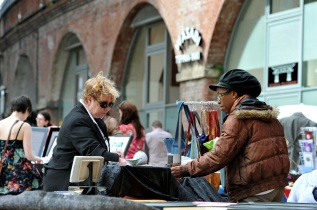 New Granary Wharf Pannier Markets and outdoor arts. 24.04.10